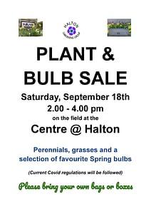 PLANT SALE @ The Centre @ Halton