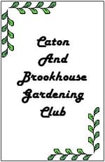 The Caton and Brookhouse Gardening Club